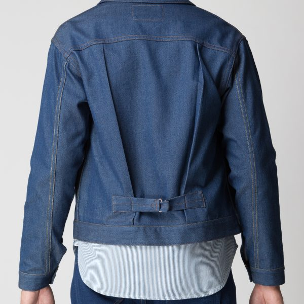 f3bdb6f7ce BN Natural Blue Selvedge Denim Green Cast Work Shirt – Blue Nails